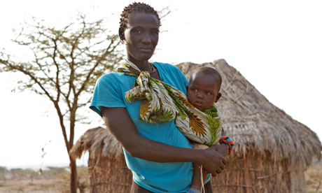 Life in northern Kenya: 'We either burn charcoal or die of starvation' (says mother)
