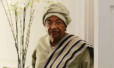 LIBERIA: Woman President Sirleaf outlines progress and goals