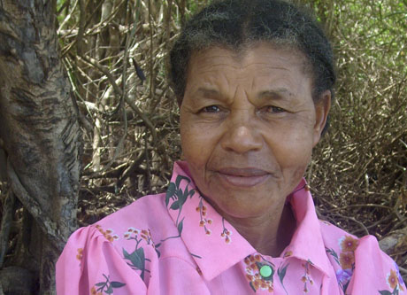 "No rain made us ""start at zero,"" says Madagascar woman rice farmer"