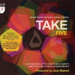 Album cover for Pakistan musicians - Sachal Studios Orchestra - Take Five