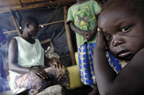 Displaced Ugandan familes stumble after UN assistance leaves the region