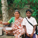 Mother and son Karnataka, India