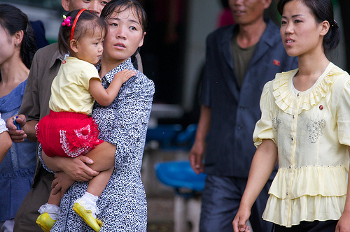 NORTH KOREA: Drought causes famine and child 'stunting' under food shortage