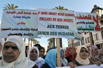 Moroccan women build land rights movement