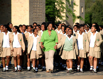 Exclusive: Interview With Oprah About Her [South Africa] School for Girls