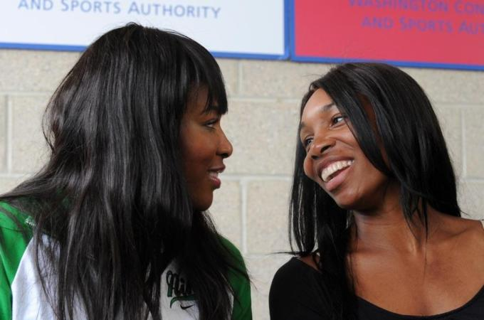 Williams sisters promote [Nigeria] women's rights