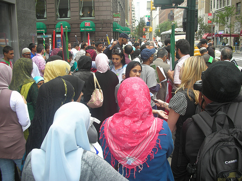 Muslims are part of the fabric of American society