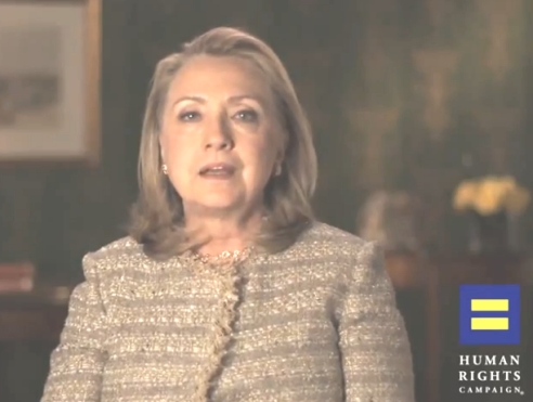 Hillary Clinton champions rights for all, including LGBTs in marriage