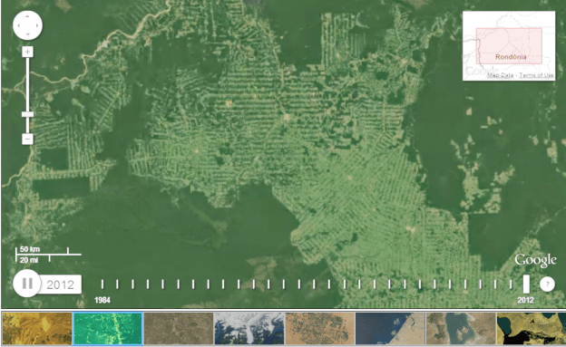 Decades of Earth change impacts show in new timelapse animation project