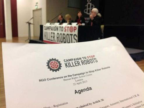 A Nobel Laureate, a UN Special Rapporteur & others say no to killer robots