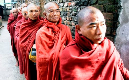 Burma/Myanmar Buddhist monks are feeding division say human rights activists