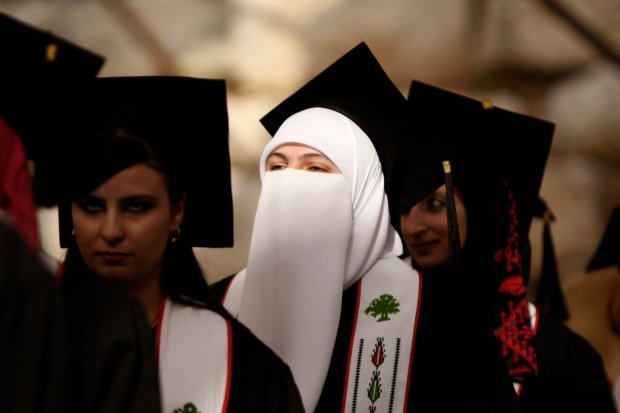 Palestine's Women Head to College