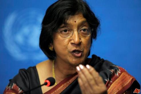 Harassment of women reaches UN's highest woman Ms. Navi Pillay