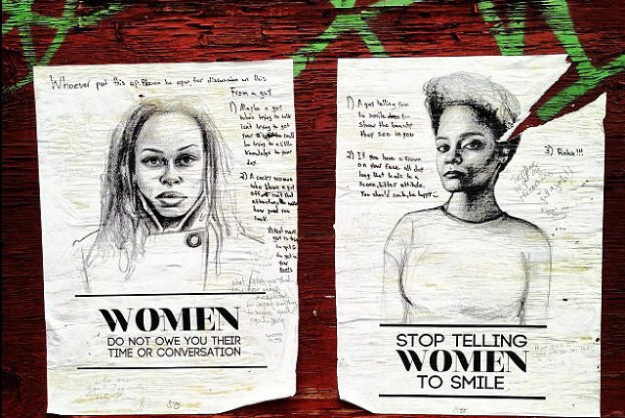 Street Art Lets [US] Women Take a Stand Against Harassment