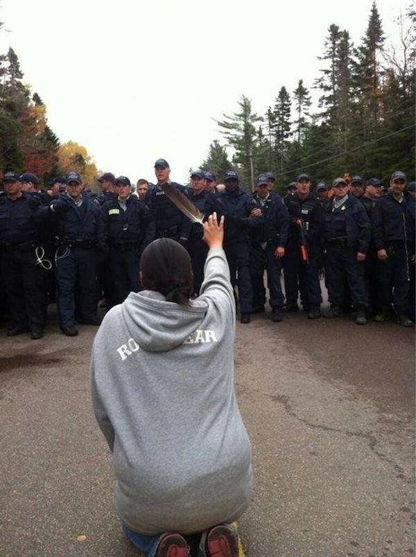 Mi'kmaq Anti-Fracking Protest Brings Women to the Front Lines to Fight for Water