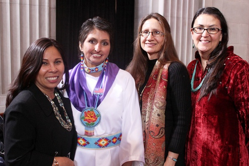 Native Indian women get U.S. Federal legal power to report violence