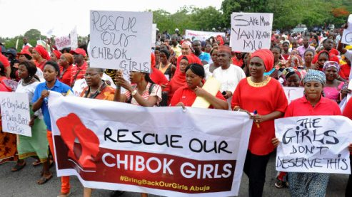 Nigeria's president meets with frustrated parents of kidnapped girls