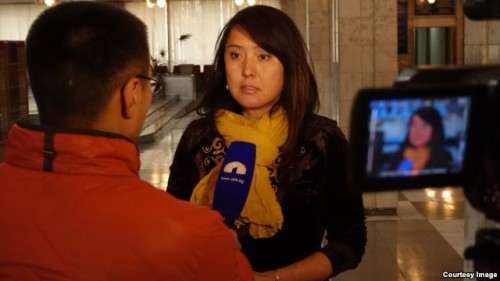 Kyrgyz journalist Ms Janyl Jusupjan covers the plight of ethnic conflict