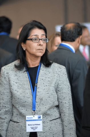 Naina Lal Kidwai - banker and business executive