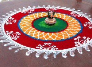 Attract positive energy - the magical rangoli