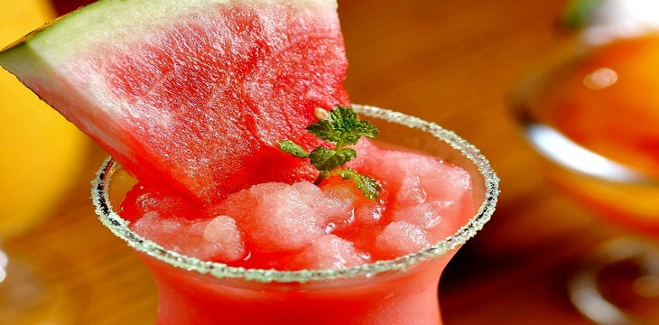 The Healthy Watermelon Sorbet