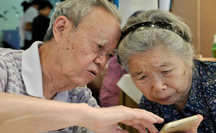 Grandparents' secrets to long lasting love