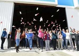 Pink Paper Plane Day at AOPA