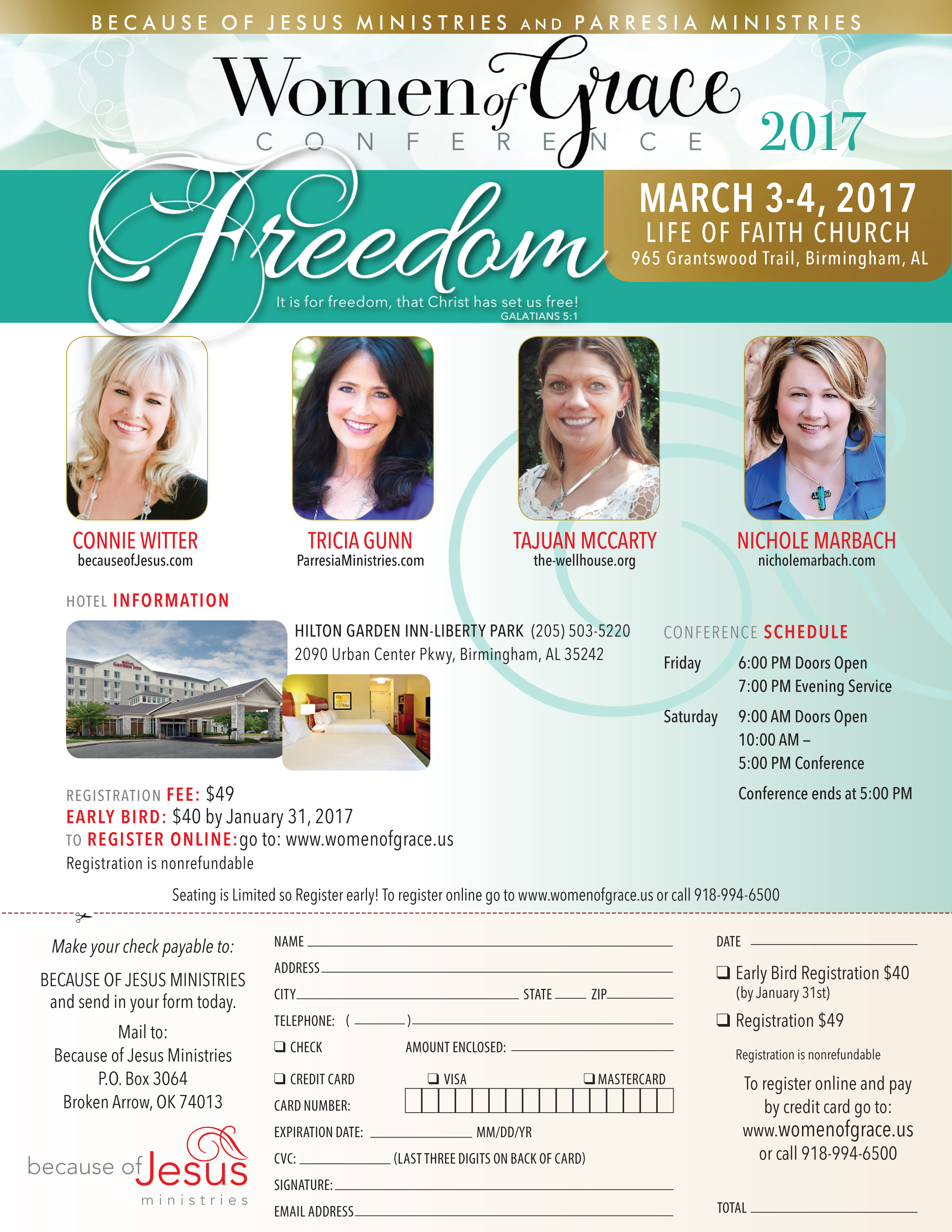 Download Birmingham Women of Grace Conference Flyer