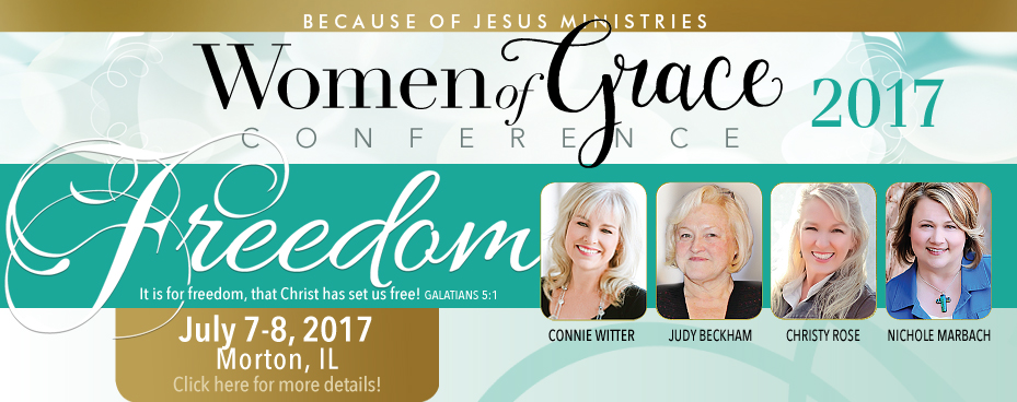Morton Illinois Women of Grace Conference Banner