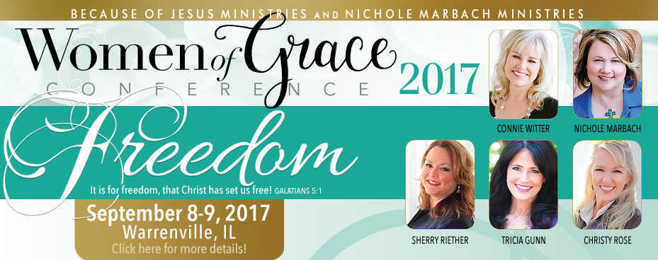 Chicago Illinois Women of Grace Conference Banner