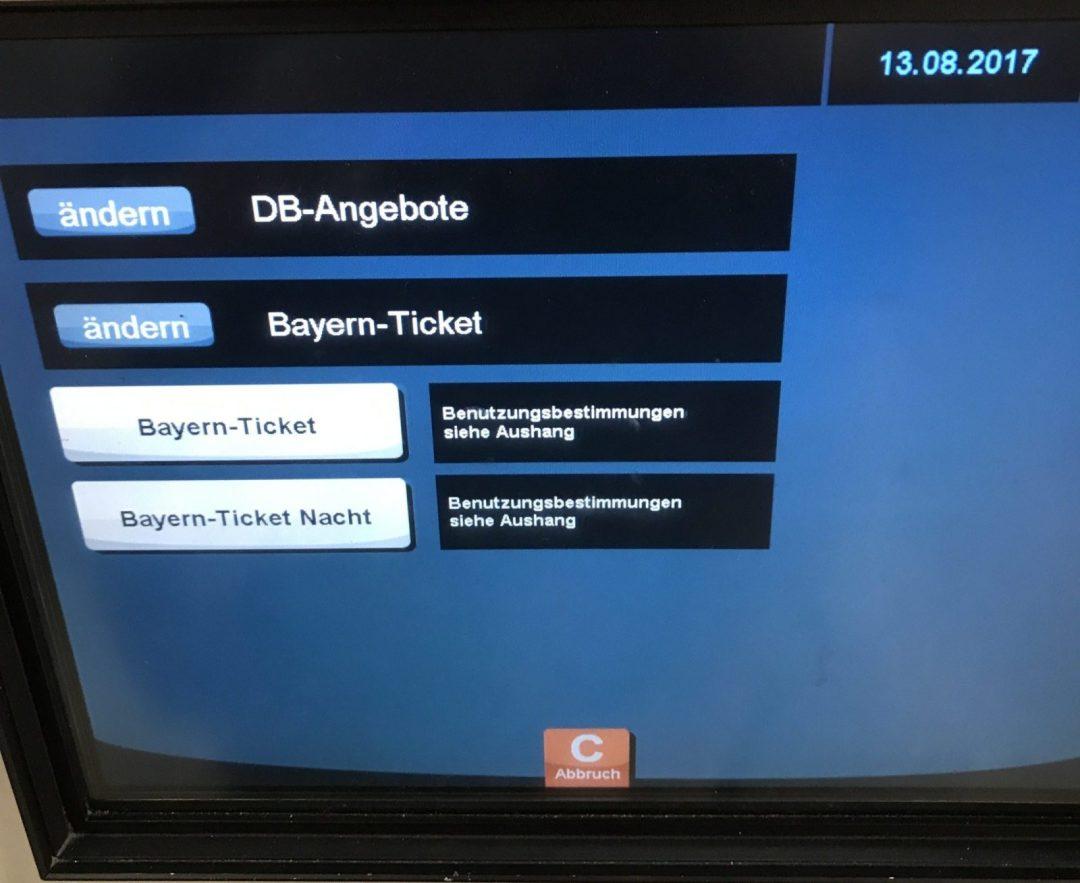 Sachsen ticket single