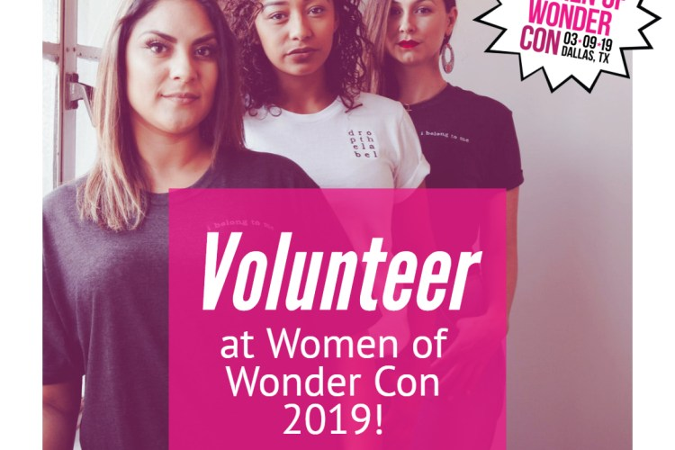 WOW Con 2019 Volunteer Application