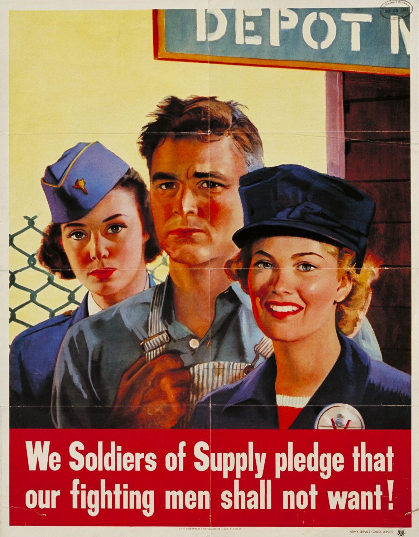 Posters Women Of World War Ii