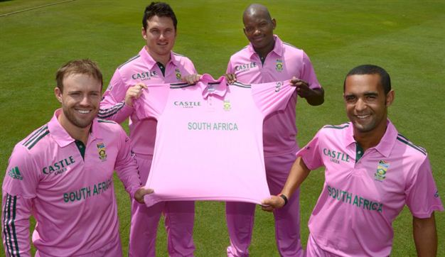 Pink Jersey By South Africa Cricket To Support Breast