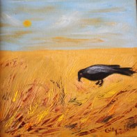 The crow was an important symbol to me in prison. An old crow used to perch on the wall of the prison. I envied that crow, for its freedom but I also loved that corw because it reminded me that there was a world outside