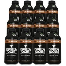 Powerful Yogurt Protein Drink, Greek Yogurt Chocolate, 12 Count