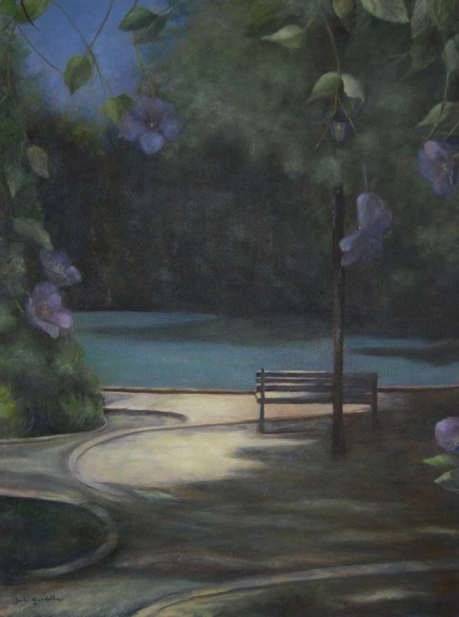 """""""Alone"""", Oil on Canvas, 24""""x32"""""""