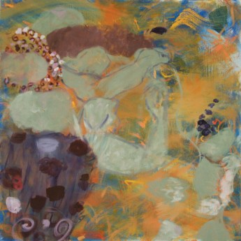 """Serene Essence,"" Oil on Canvas, 24""x24"""