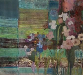 """""""Flower Bunch,"""" Oil on Linen, 24""""x22"""""""
