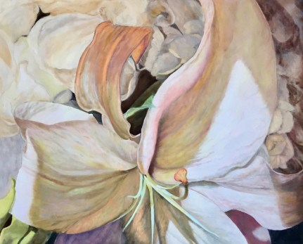 """""""Lily,"""" Oil on Linen, 40""""x32"""""""