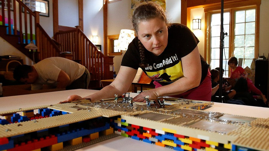 Alice Finch - LEGO designer, builder, and teacher