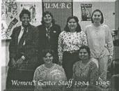Meet the Women's Center staff from 1994-95!