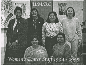 Meet the Women's Center staff from 1994-95!