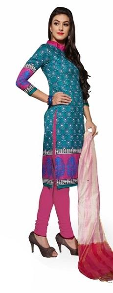 0028400_bhagalpuri-unstitched-dress-materialturquoise-multi