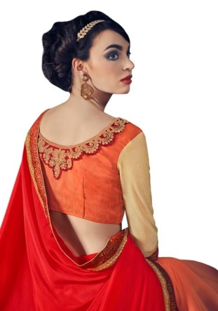 0033109_red-and-orange-marble-fancy-fabrics-and-cn-paper-silk-sari