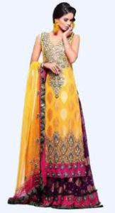 DRESS FOR MEHNDI | MEHNDI CLOTHES