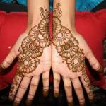 Easy and simple mehndi designs for Kids