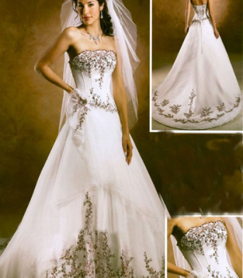 SIMPLE BRIDAL DRESSES 02