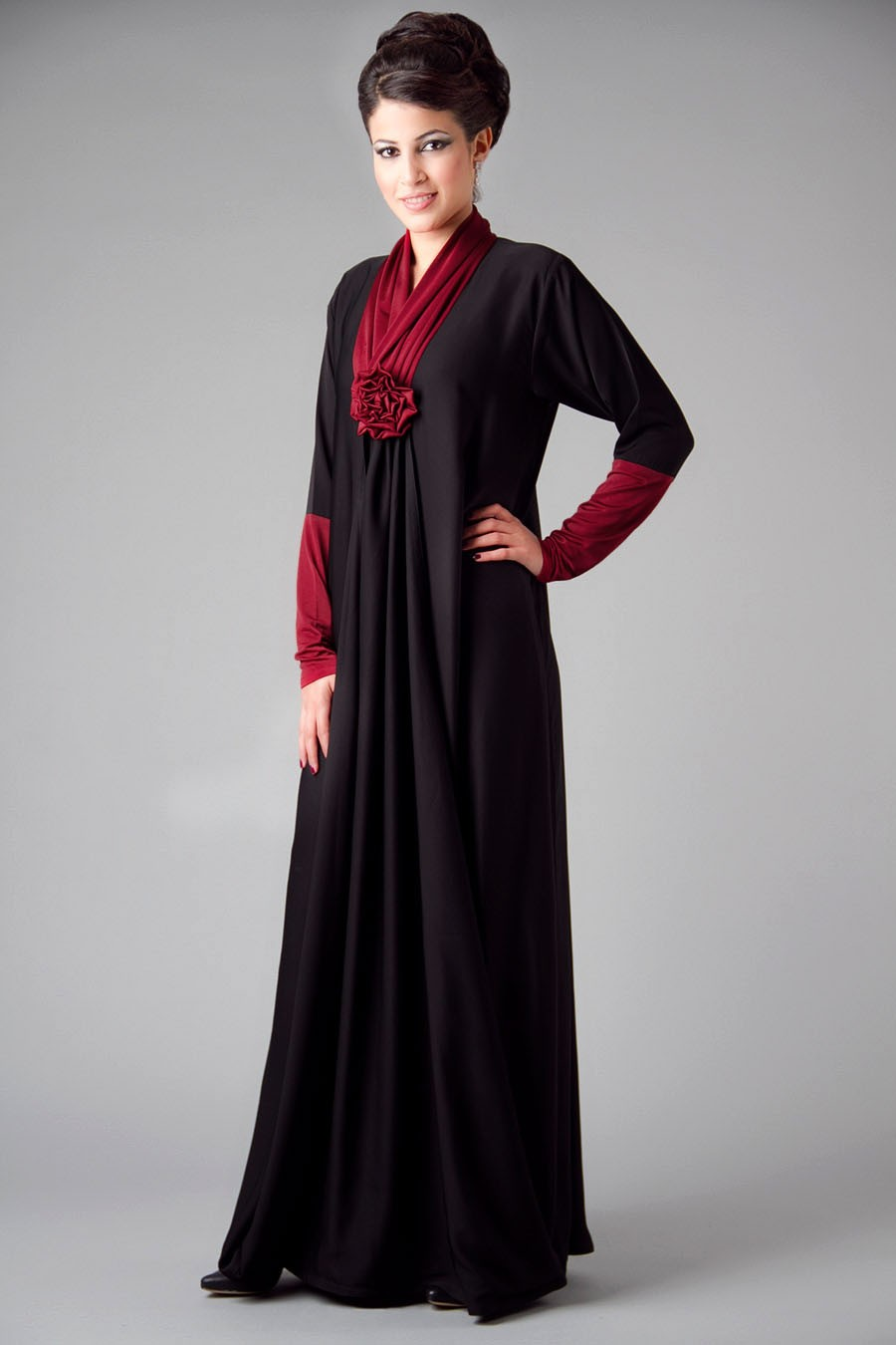 simple abaya collection