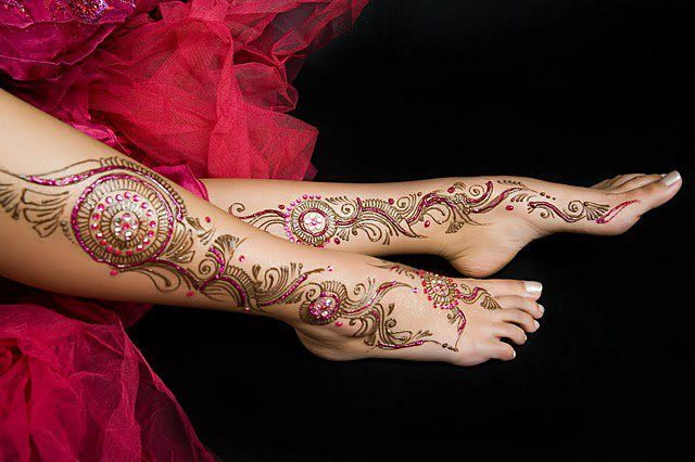 bridal mehndi designs for legs, latest mehndi designs